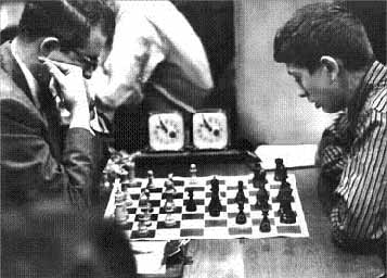 Donald Byrne contra Bobby Fischer.