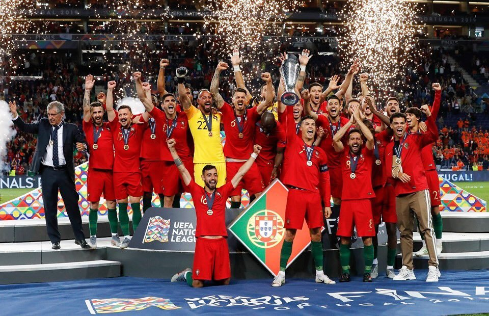 Portugal, campeona de la Nations League.